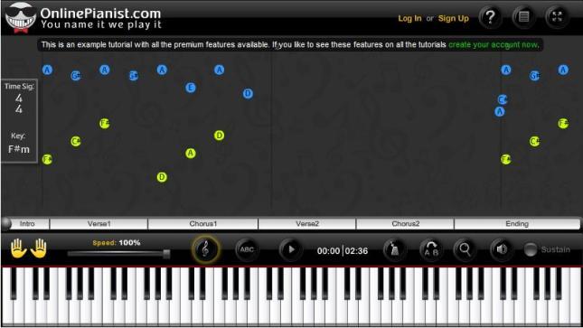 Main Piano Online
