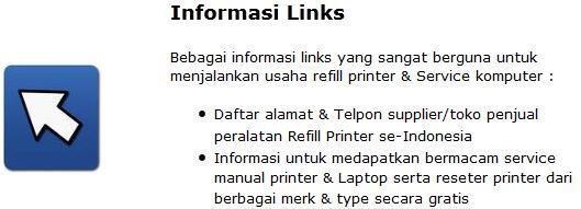 Miliki Info Lengkap Usaha Refill Printer & Service Komputer se Indonesia