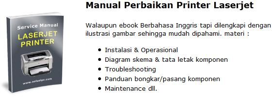 Download Manual Perbaikan Printer Laser