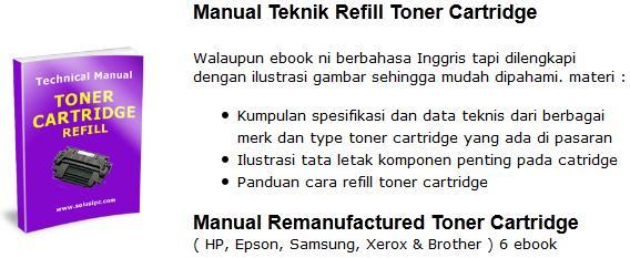Download Manual Teknik Refill Toner Cartridge