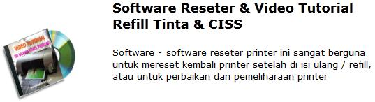 Miliki CD Kumpulan Software Resetter