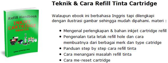 Download Teknik & Cara Refil Tinta Cartridge
